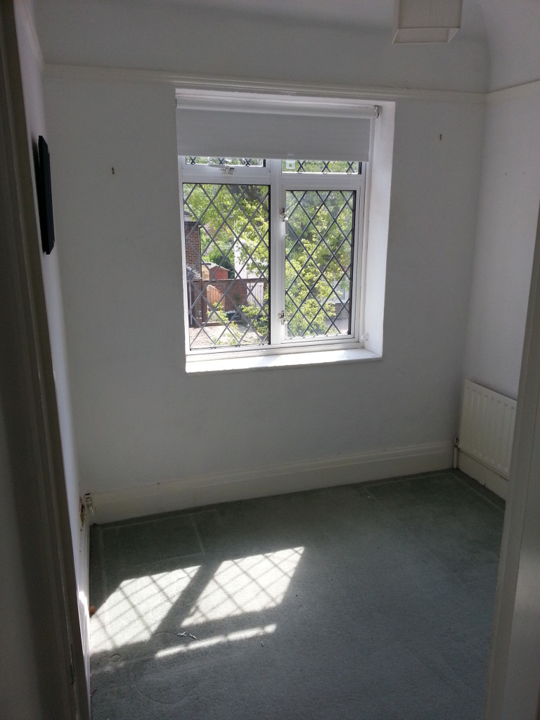 Potential for a really great room