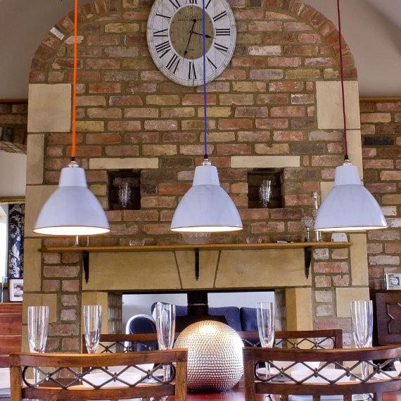 Small industrial lampshades at Nuvarti.com