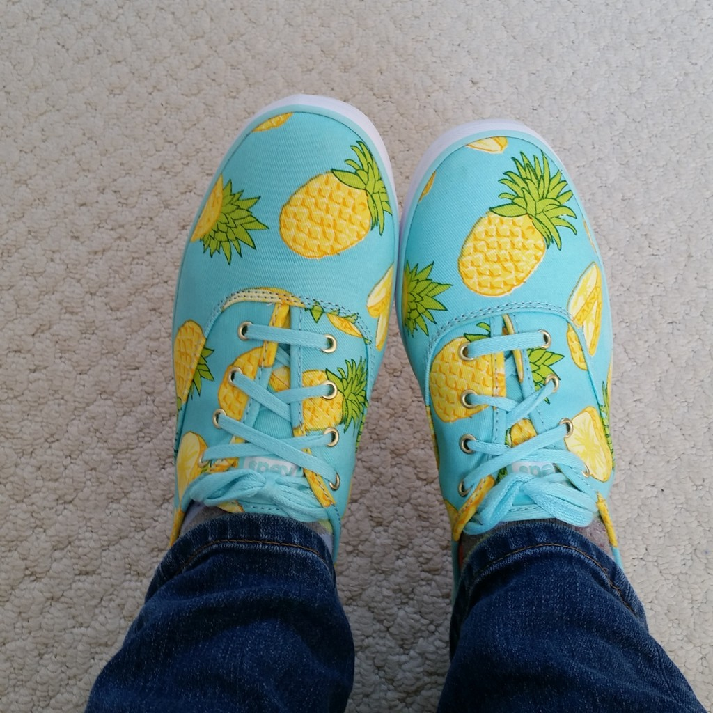 new pineapple shoes