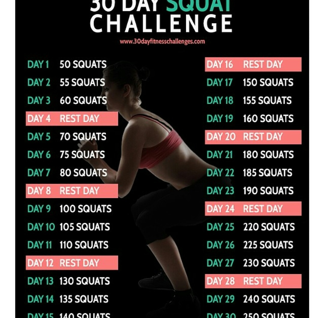 The 30 Day Squat Challenge - Boo & Maddie