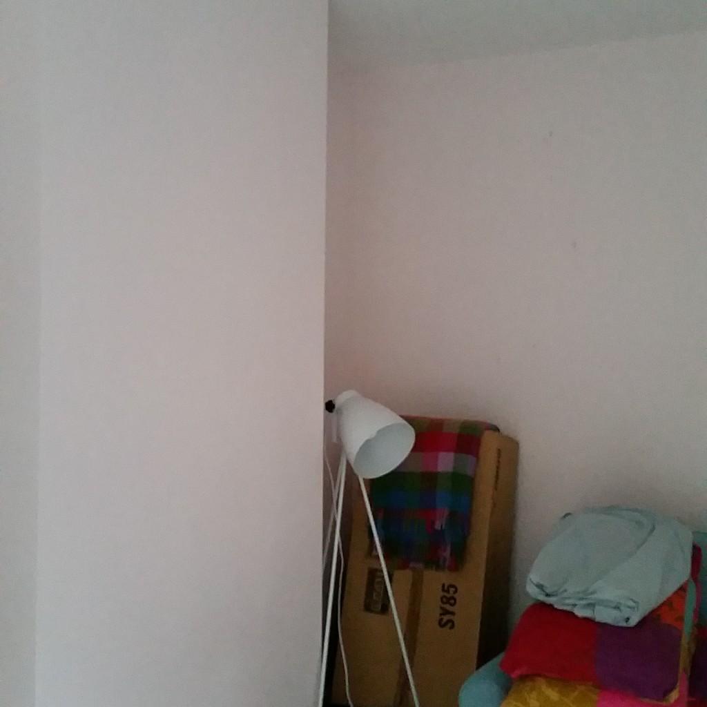 the corner before