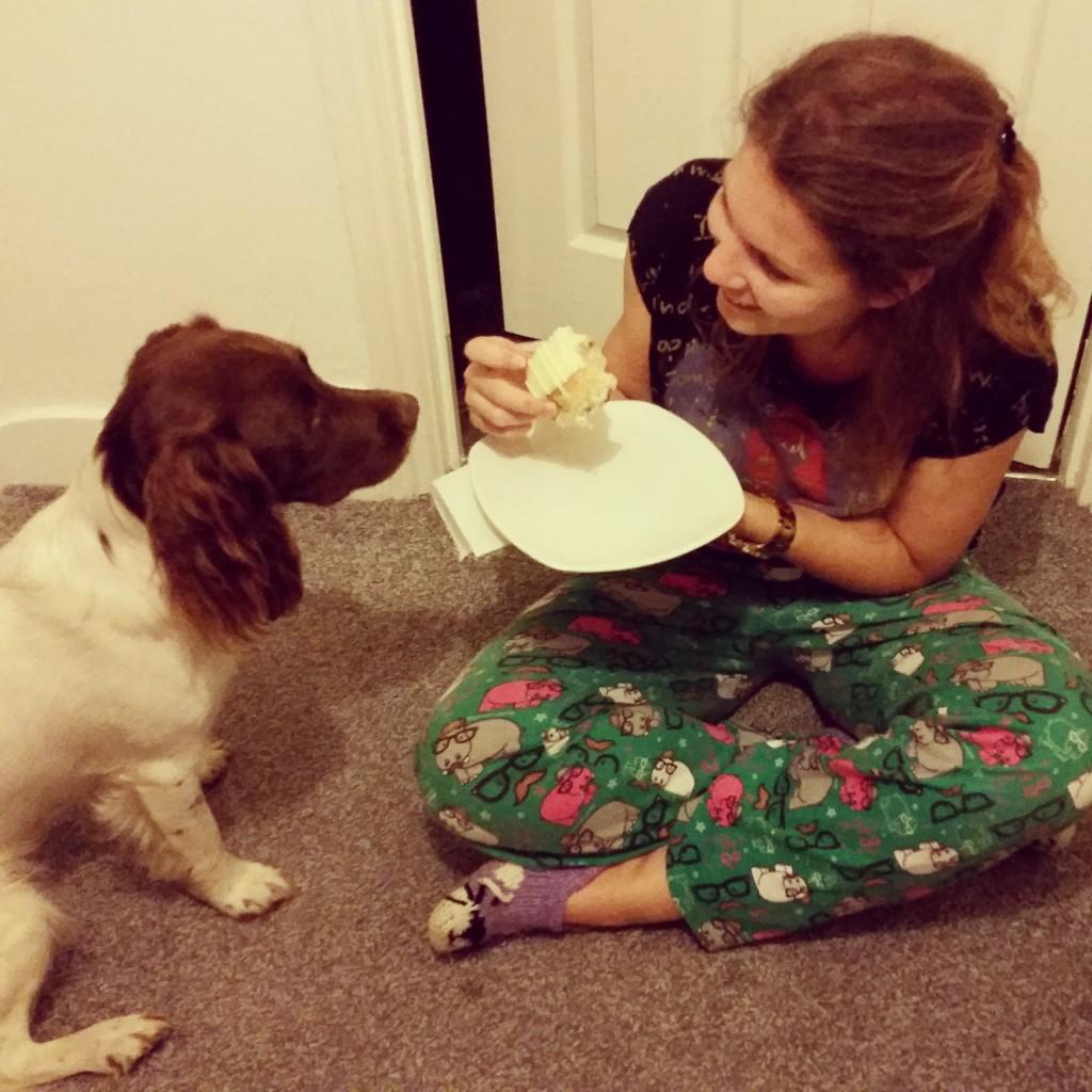 She wants the cake!