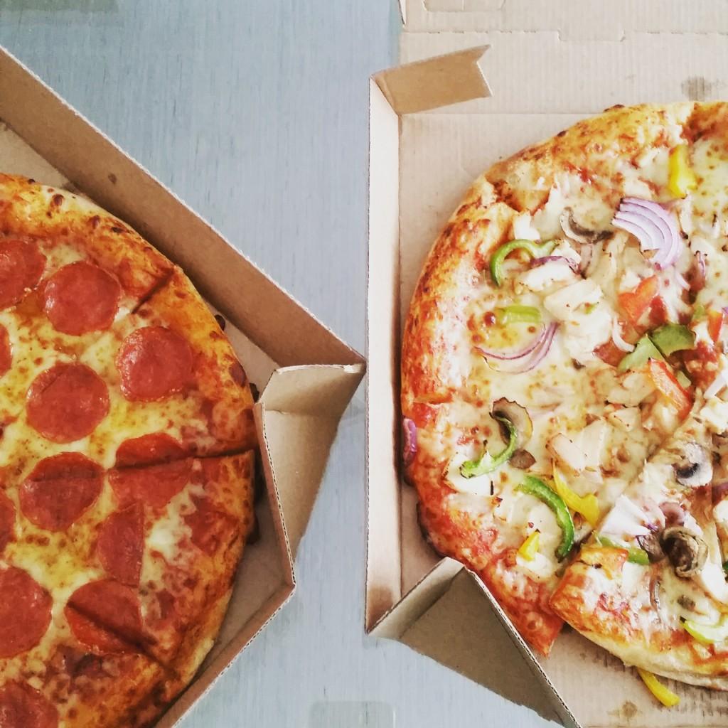 fatty pizza