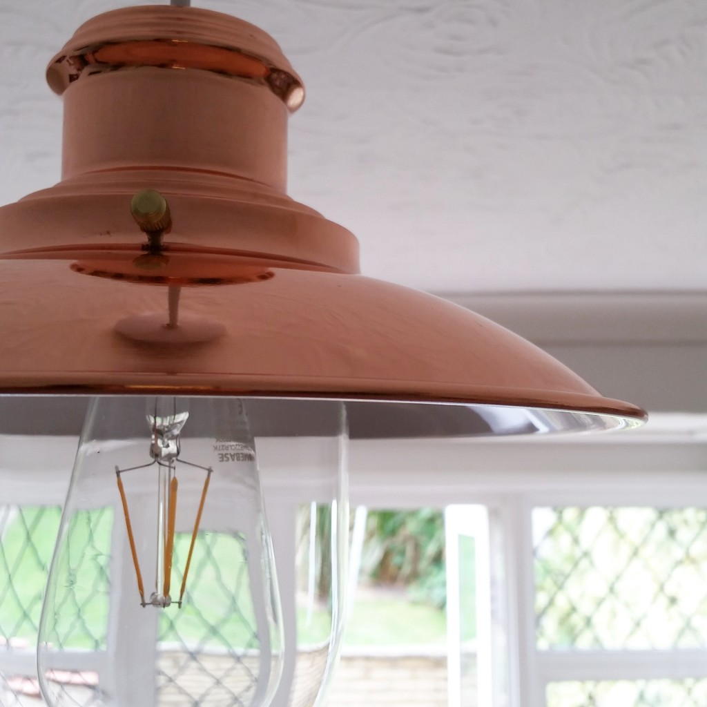 copper lightshade