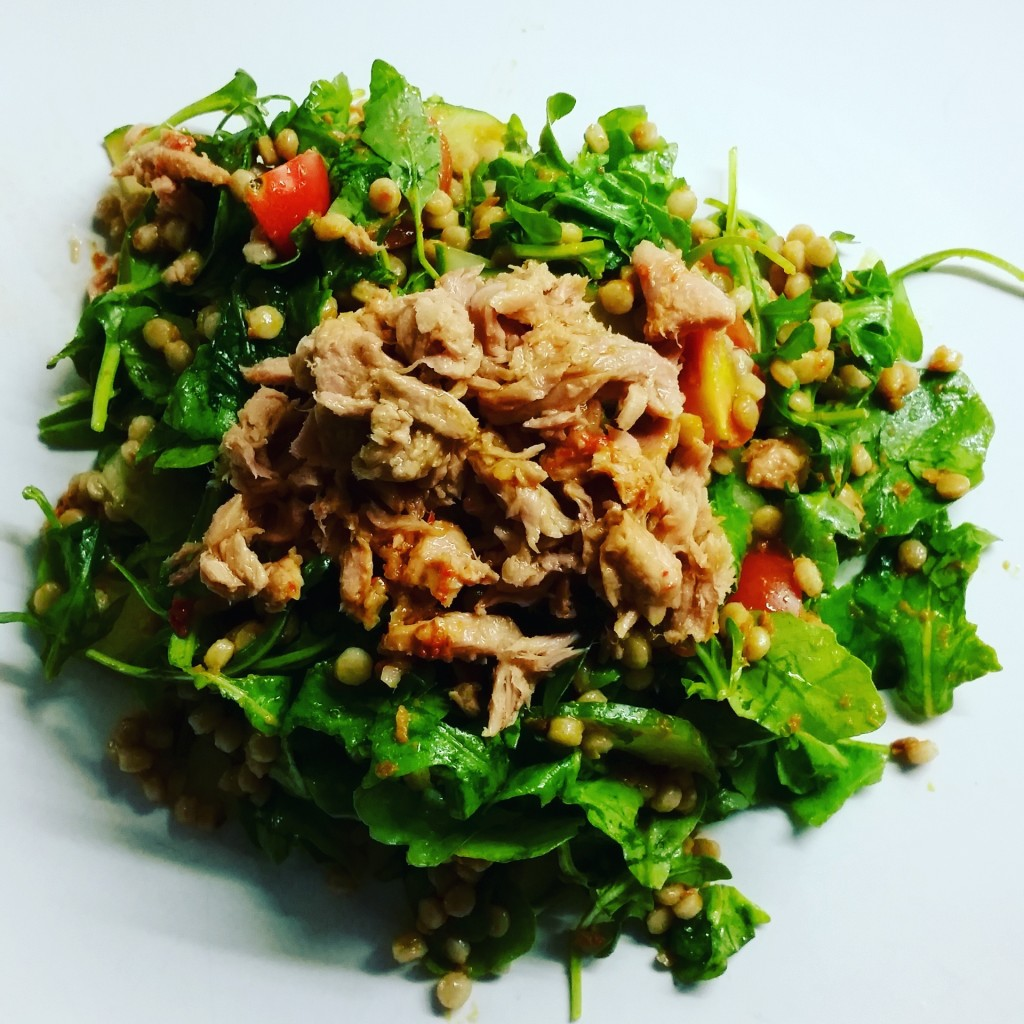 tuna and couscous salad