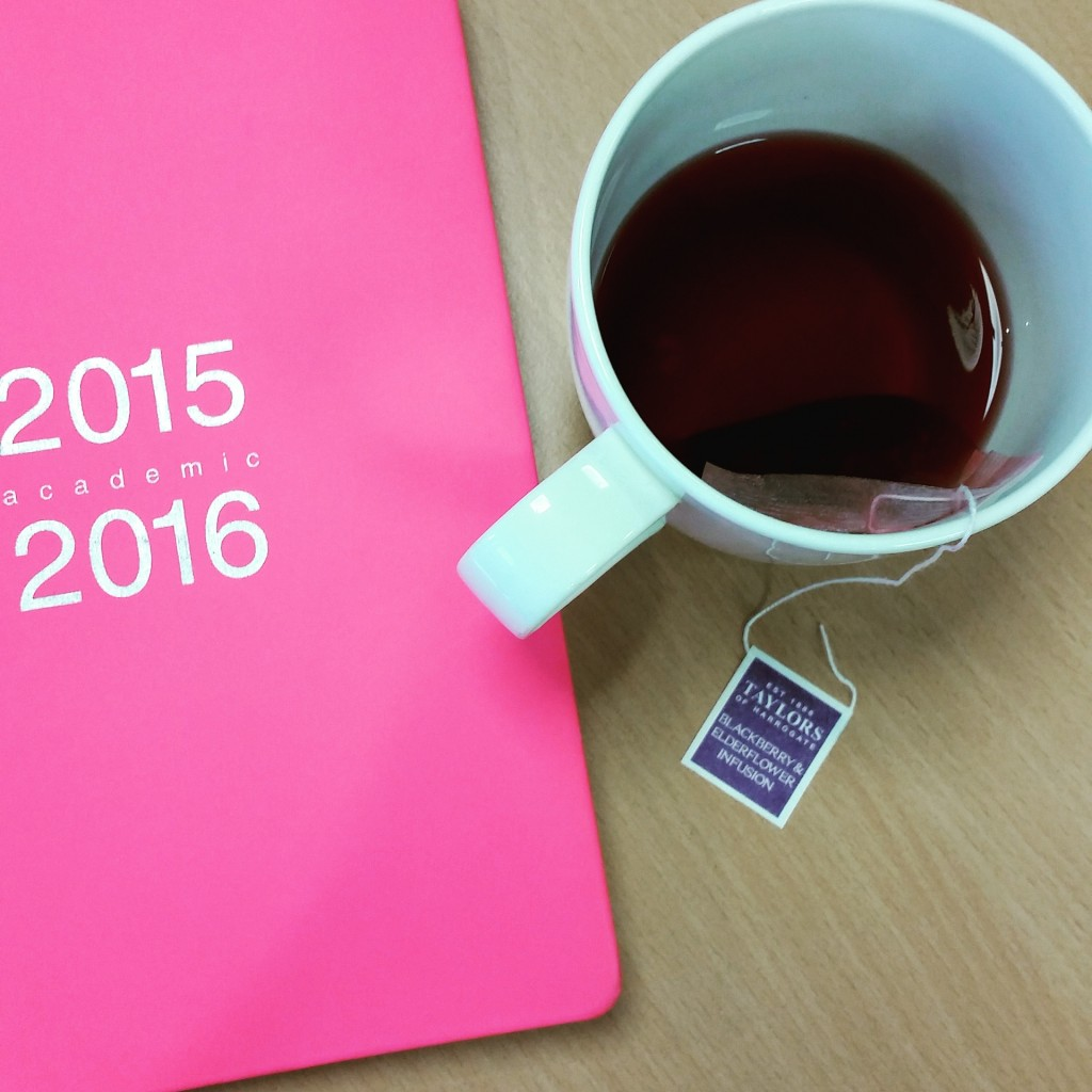 herbal tea at work