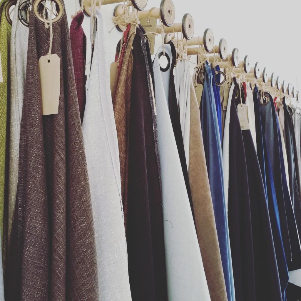 Fabrics at Button & Sprung