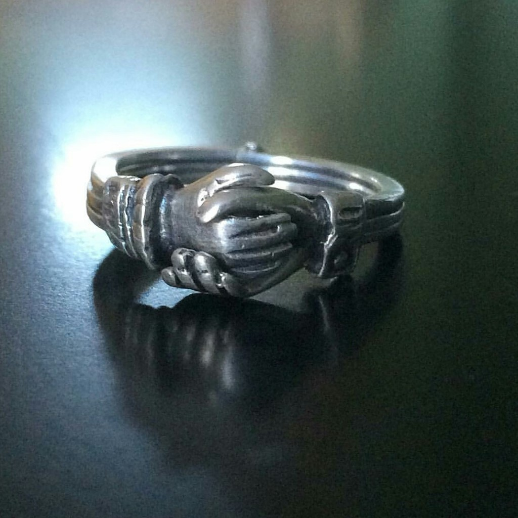Antique gemel ring
