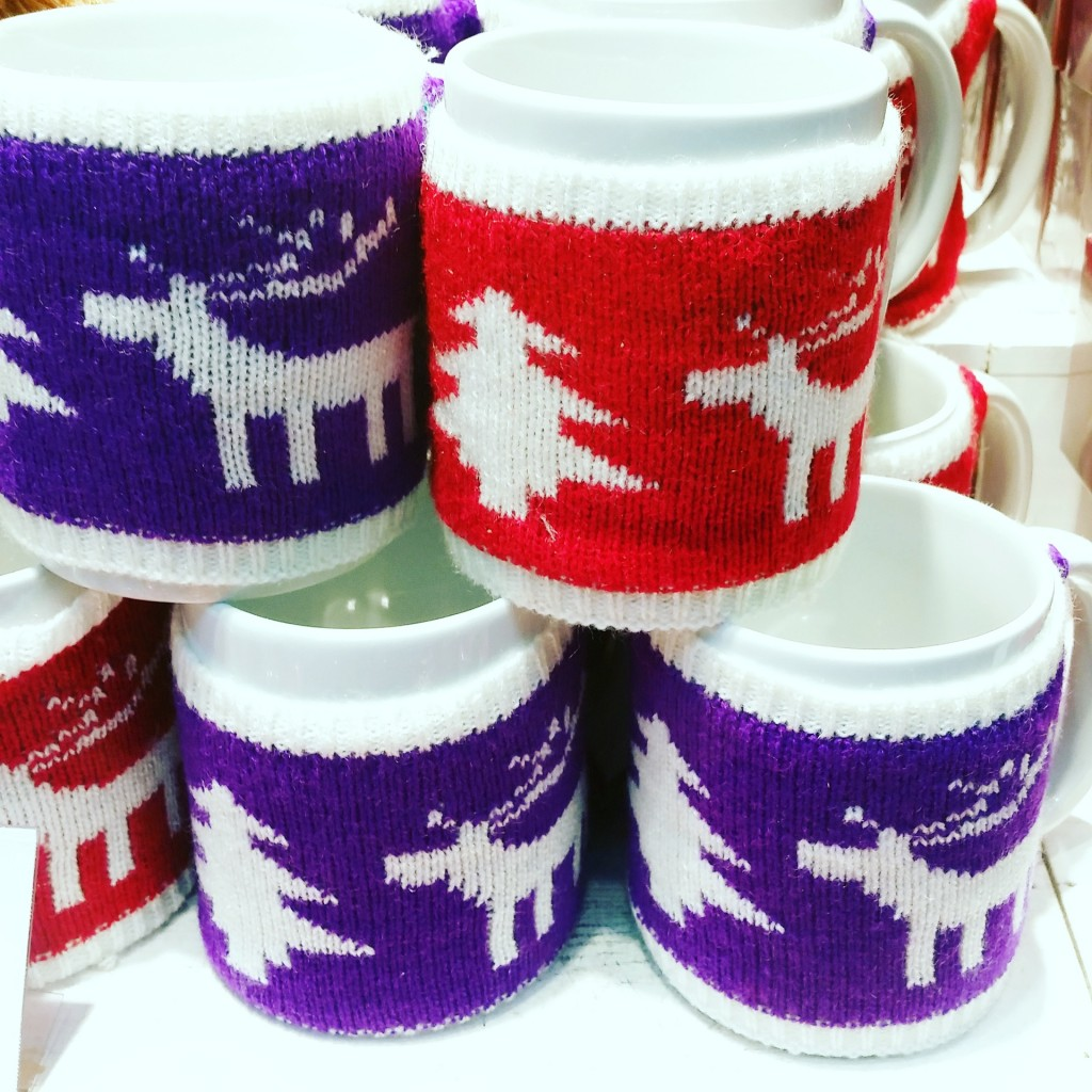 Christmas jumper mugs