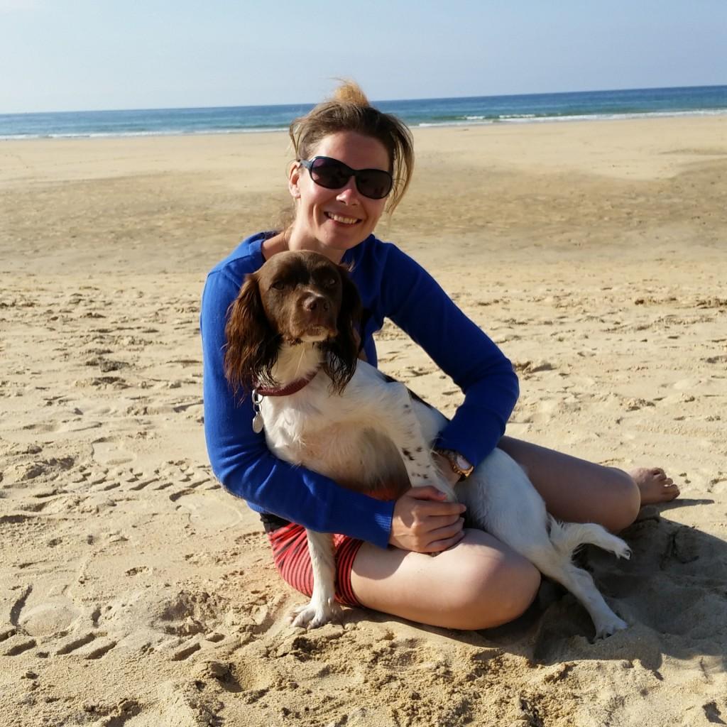 cuddles on the beach