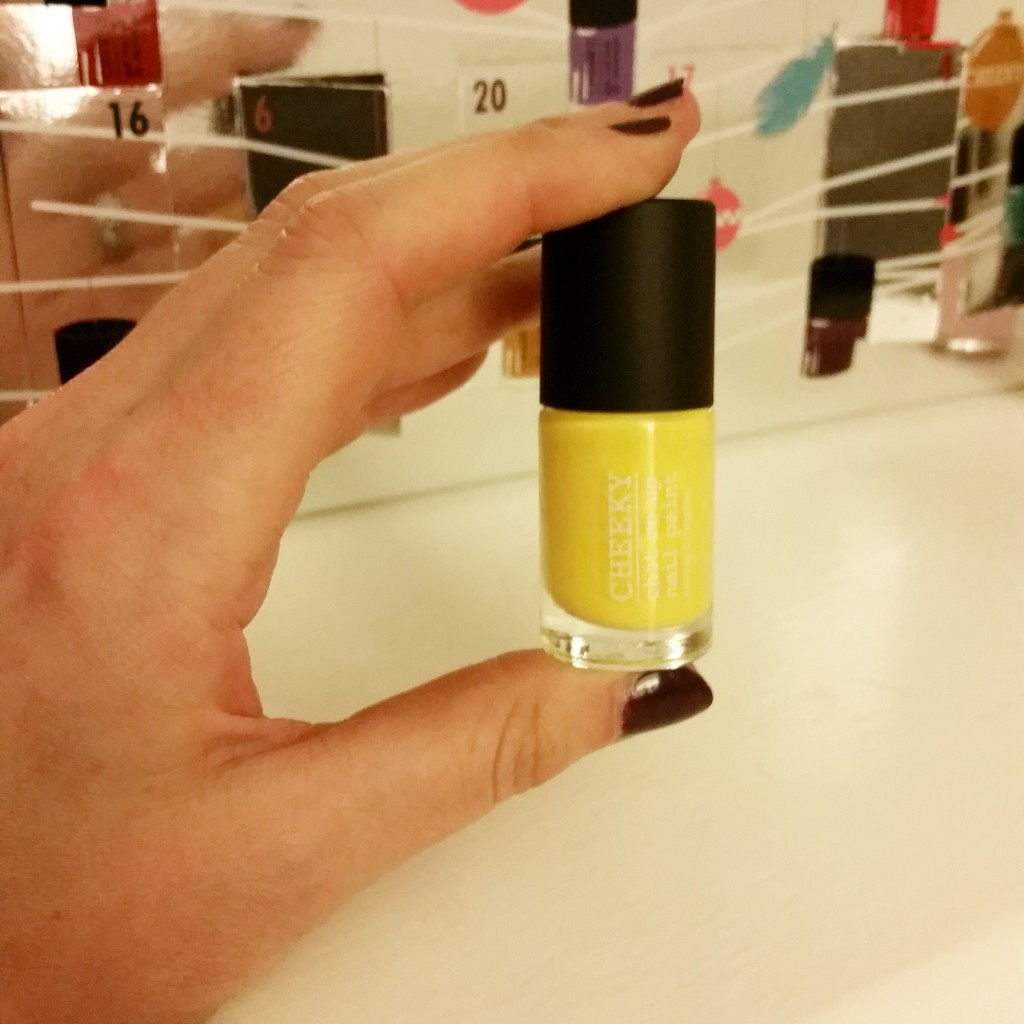 latest nail polish from the advent calendar