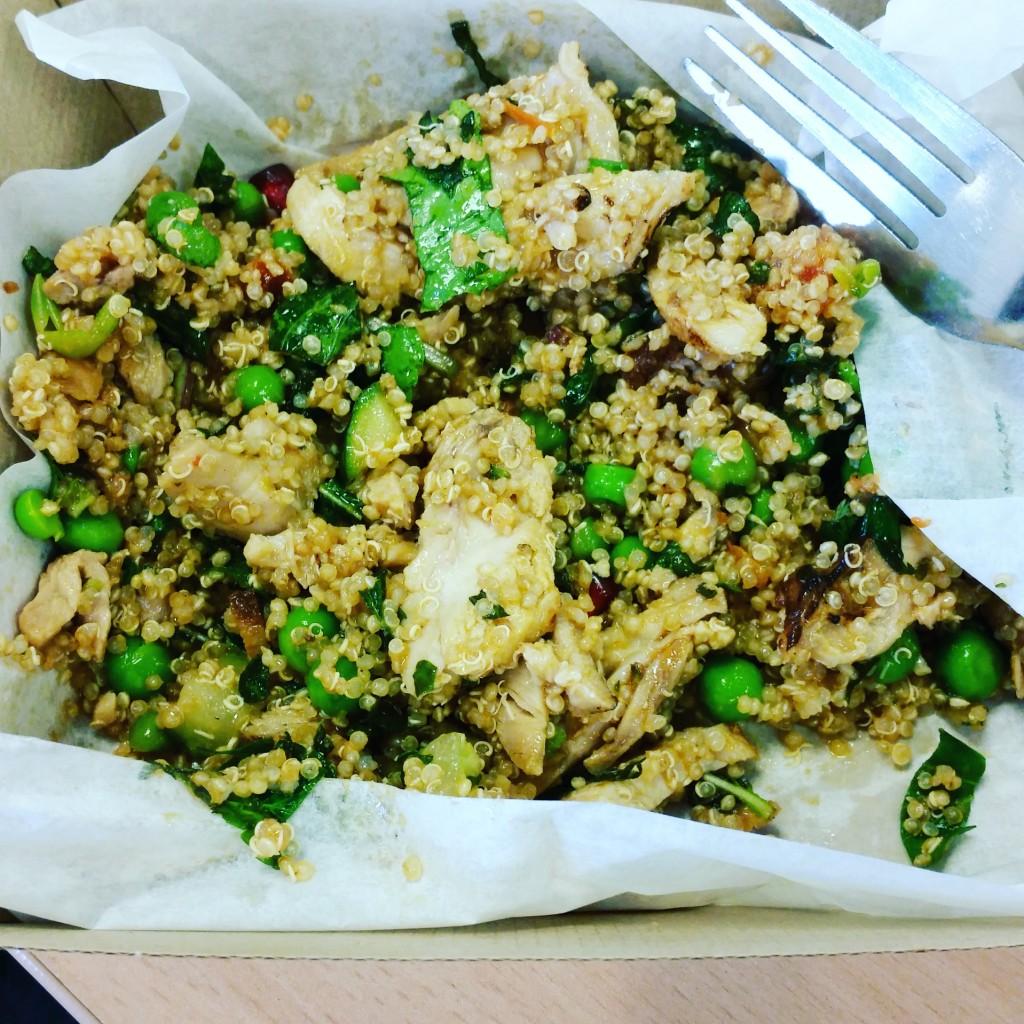 Leon quinoa salad