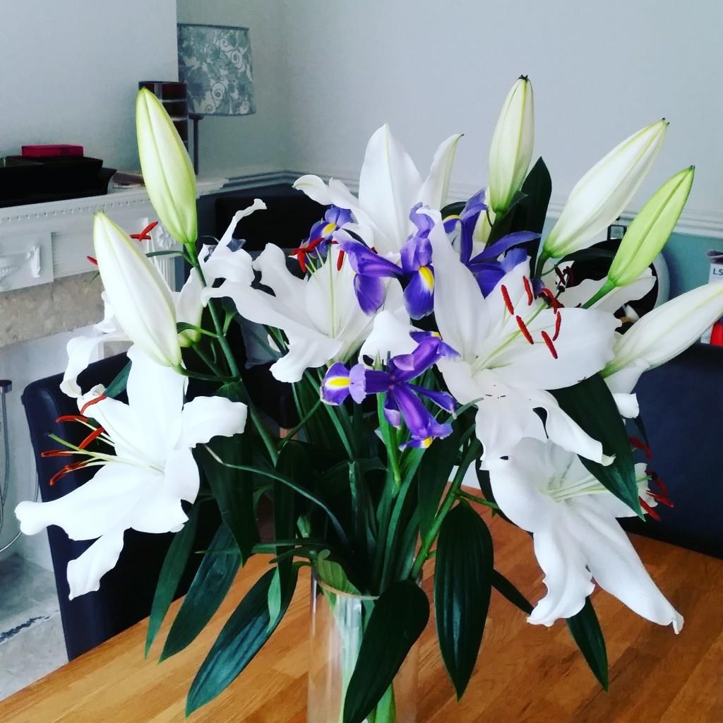 Beautiful flowers from my Mum
