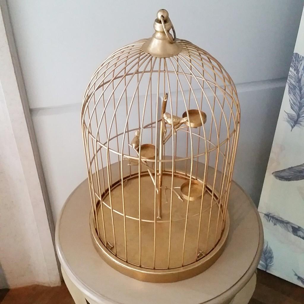 Tealight birdcage