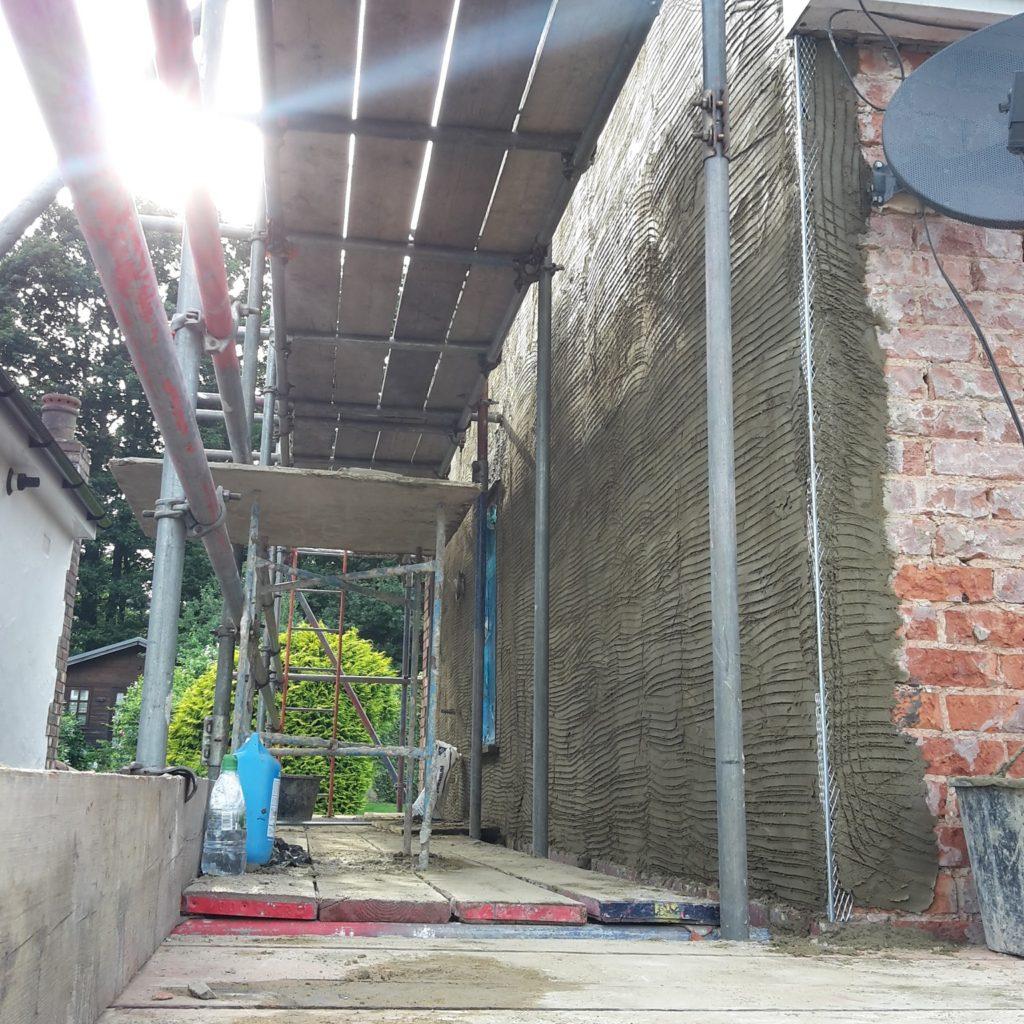 renovating