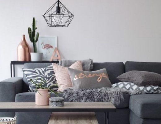 Living Room Lighting Geometric