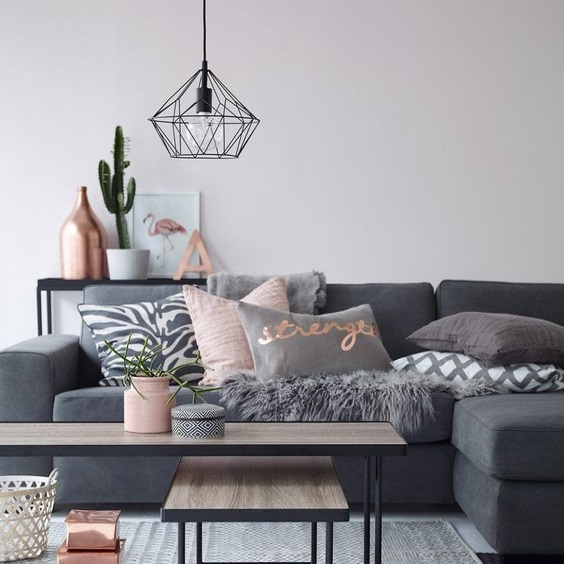 Living Room Lighting Geometric