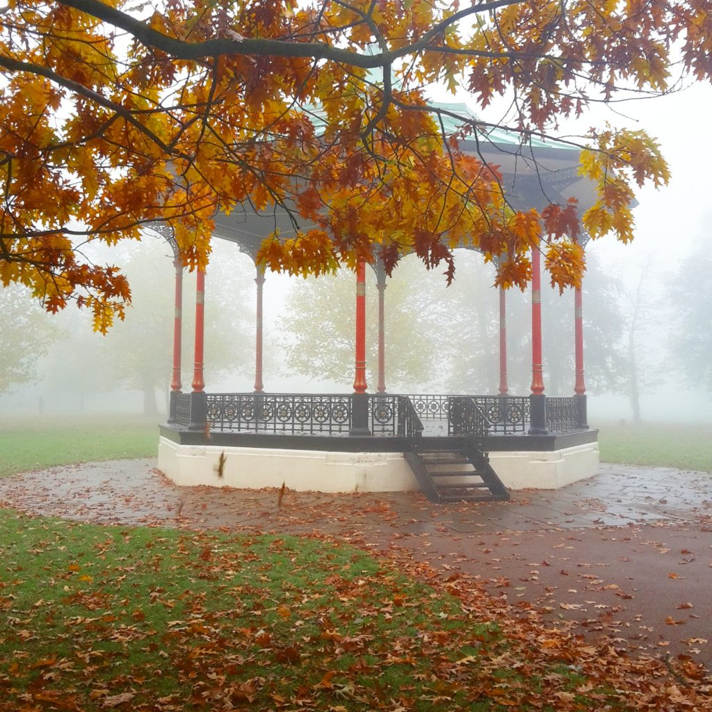 Foggy Greenwich Park