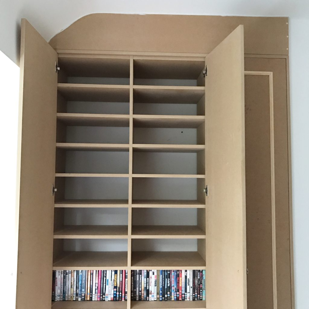Spare Room Built-In Cupboards