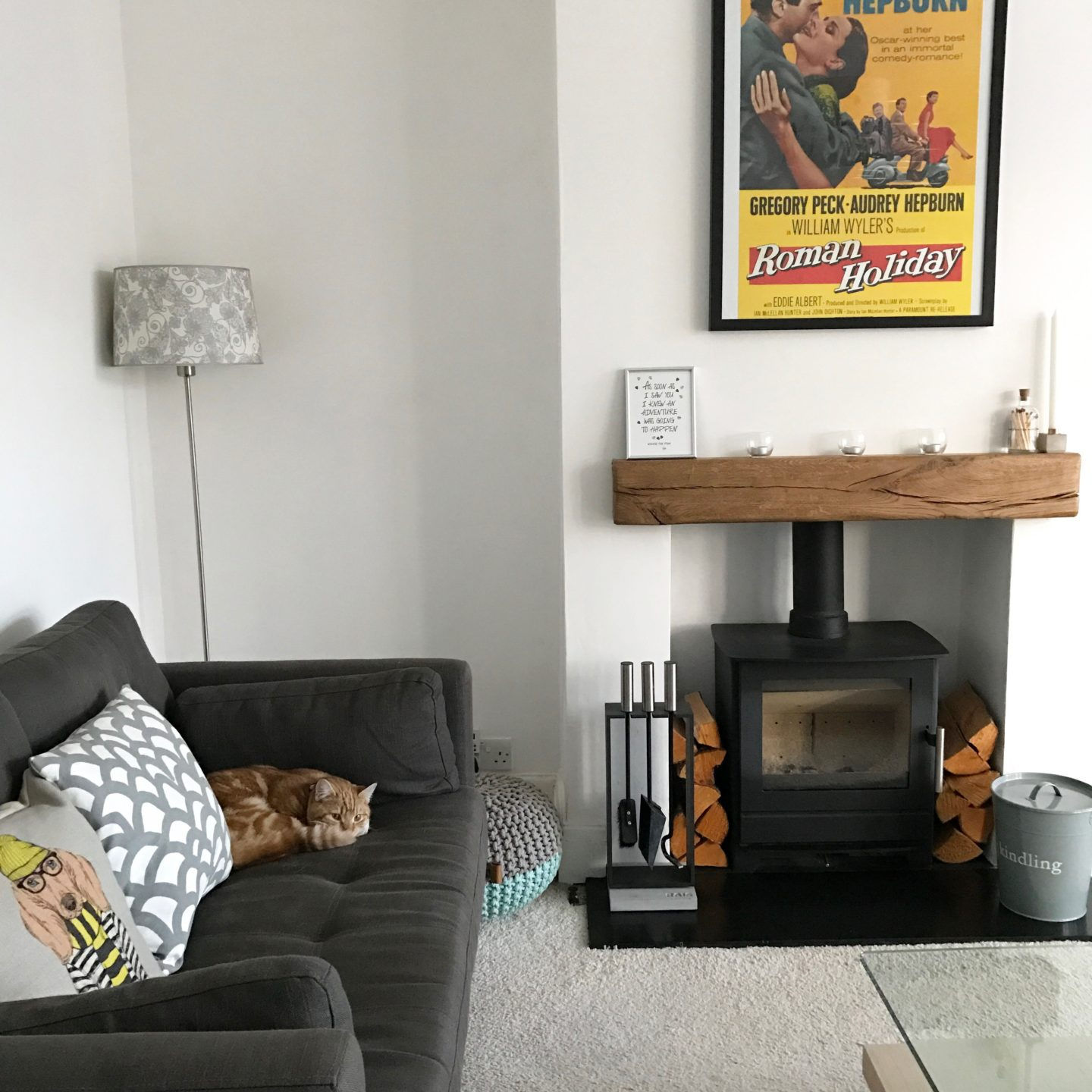 Period Living Room Fireplace