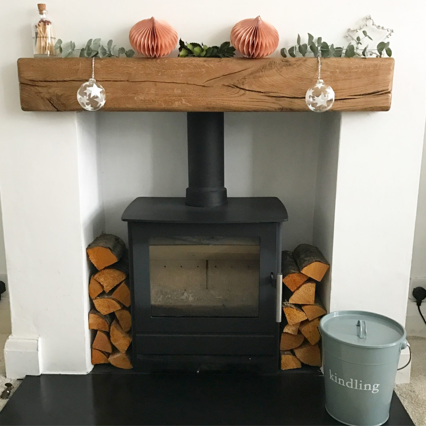 Fireplace Mantel Beam