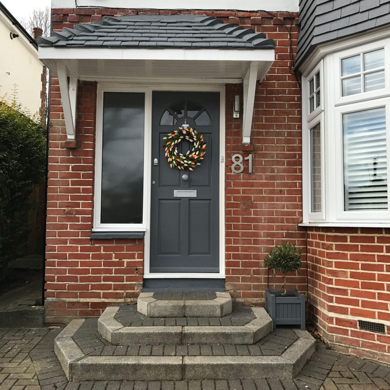 The Big Door Wreath Company Tulip Wreath