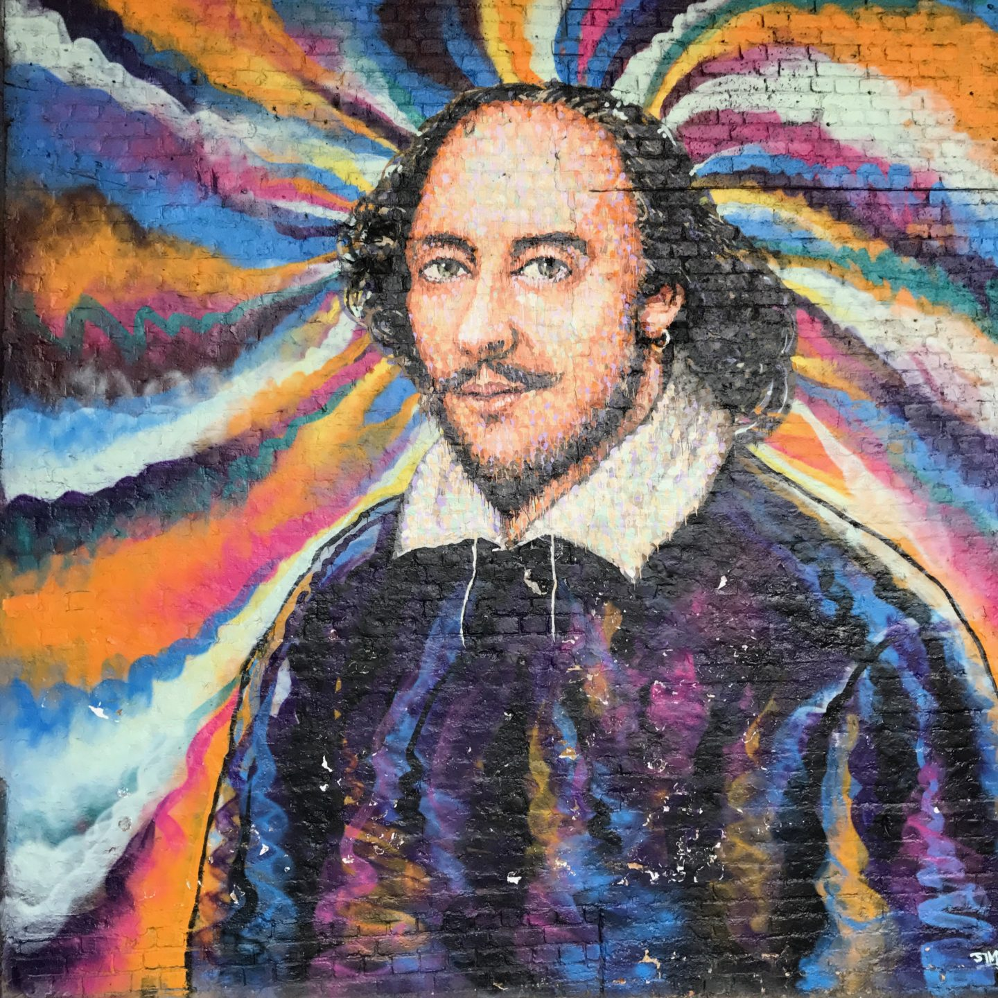 William Shakespeare Street Art
