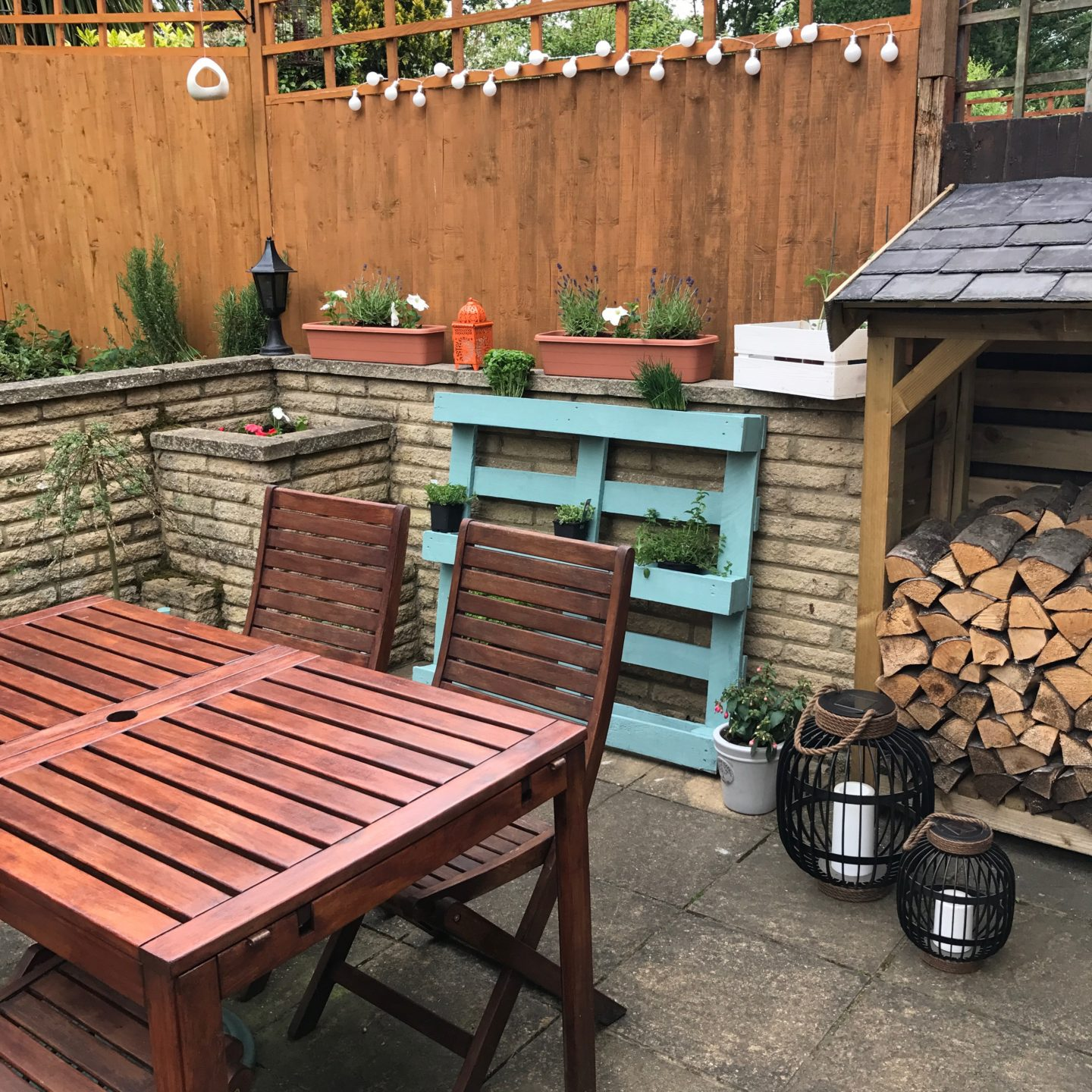 Patio Makeover With Tesco and Katie Rushworth