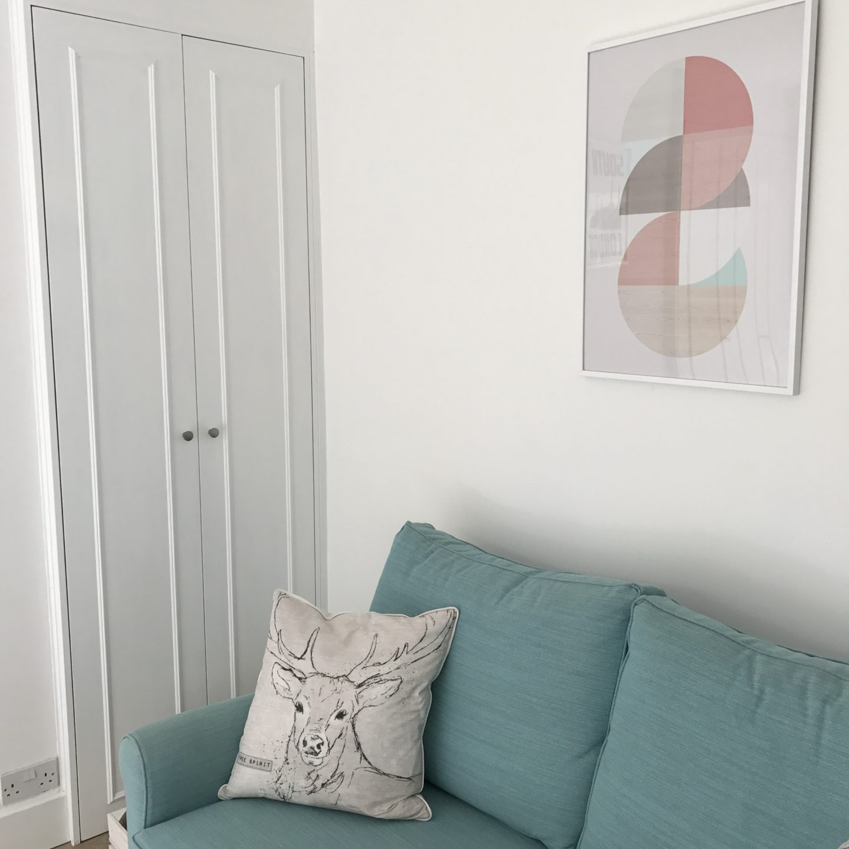 Posterlounge Geometric Print