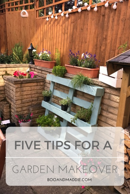 Five Tips For A Garden Makeover From Katie Rushworth