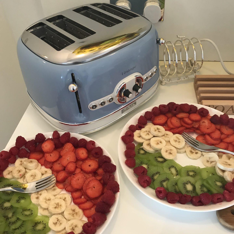 Kaleidoscope Vintage Toaster
