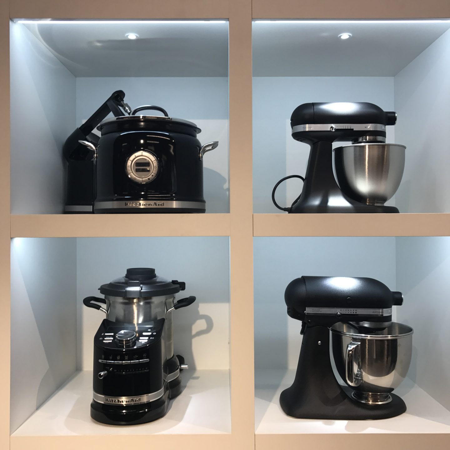 Kitchen Aid Black Stainless Steel Preview