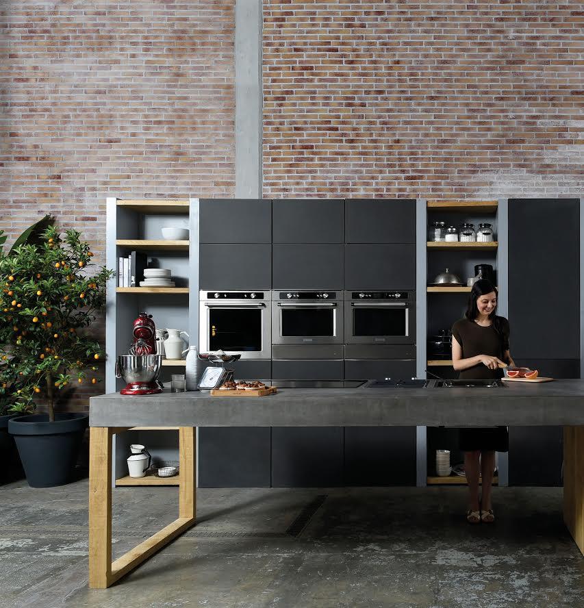 KitchenAid Black Stainless Steel Kitchen