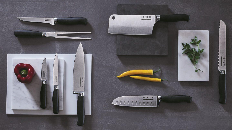 Tesco Go Cook Knives