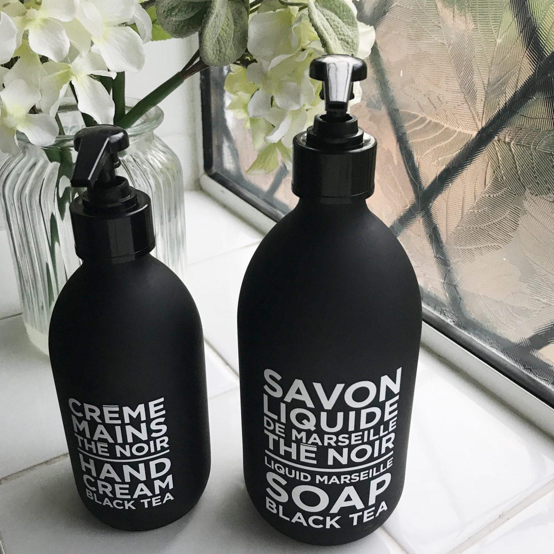 Future and Found Black Tea Soap and Hand Cream