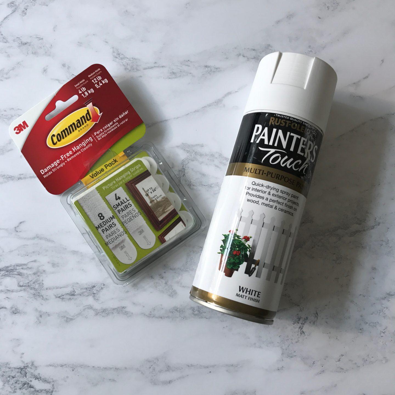 Rustoleum Spray Paint Command Strips