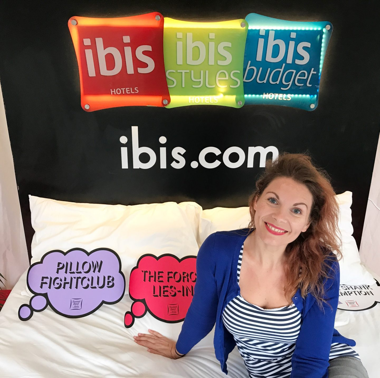#inbedwithibis campaign