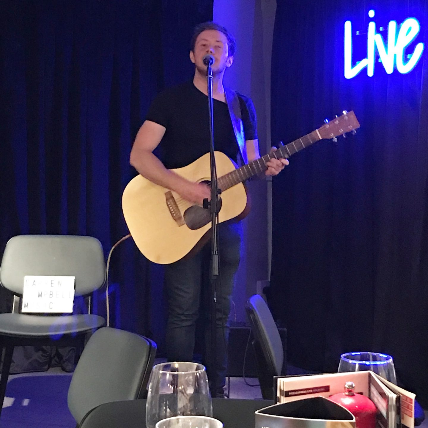 PizzaExpress Greenwich Live Playlist Darren Campbell Music
