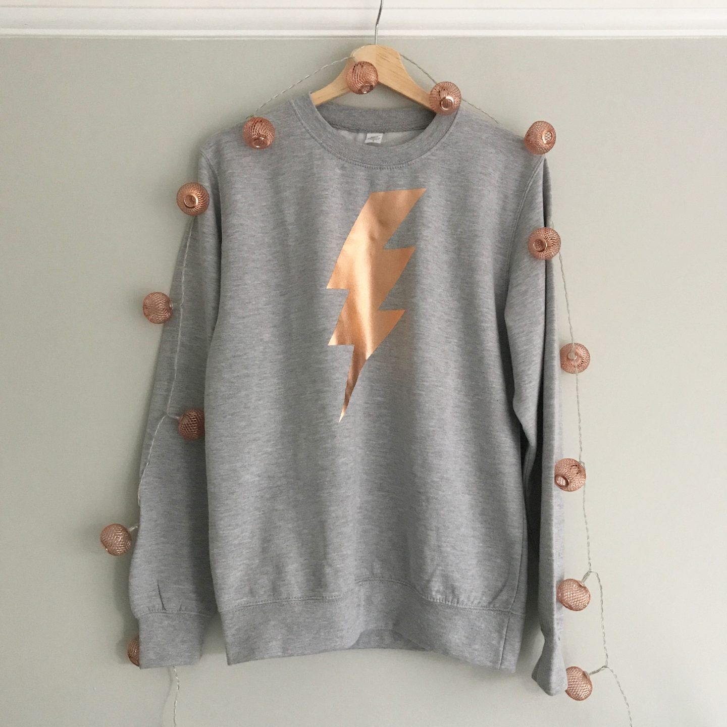 Pearl and Early Marl Grey Sweatshirt