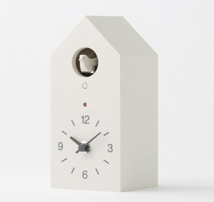 Muji Cuckoo Clock White