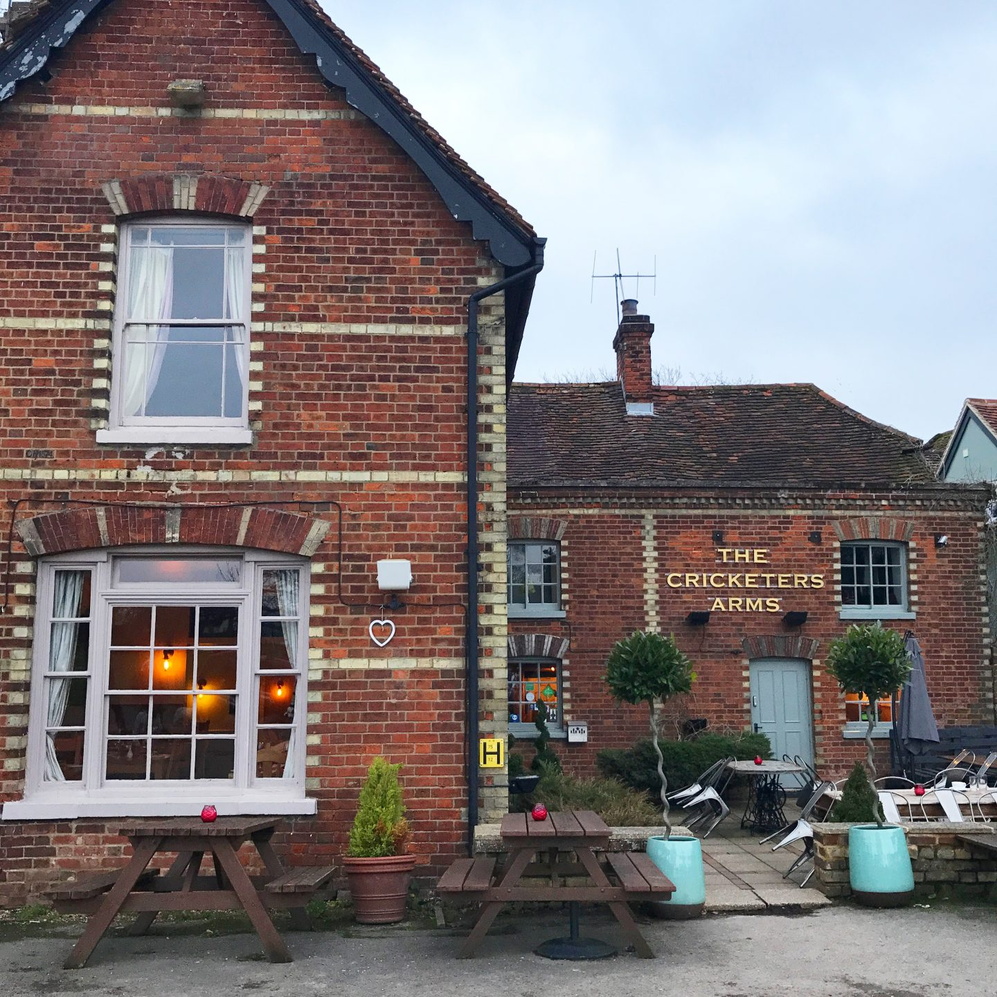The Cricketers Arms Rickling Green