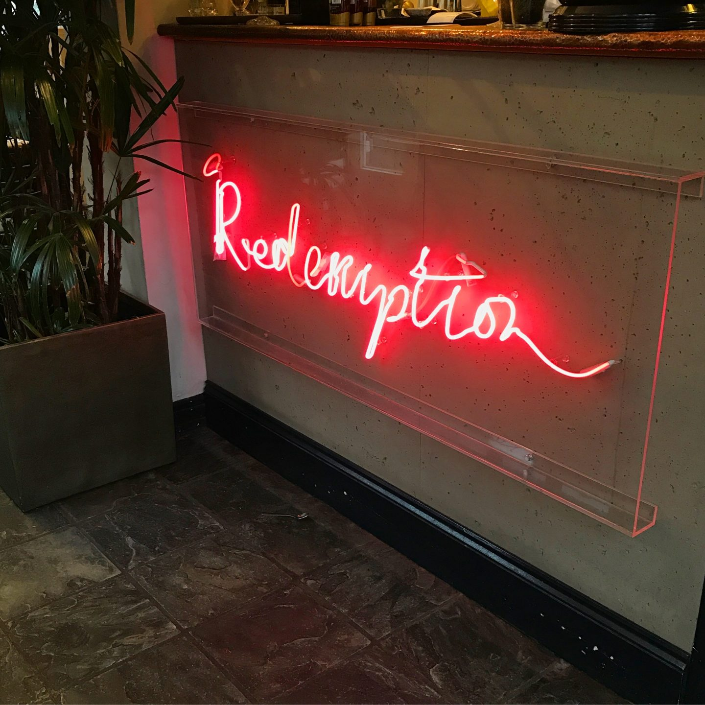 Redemption Bar Shoreditch
