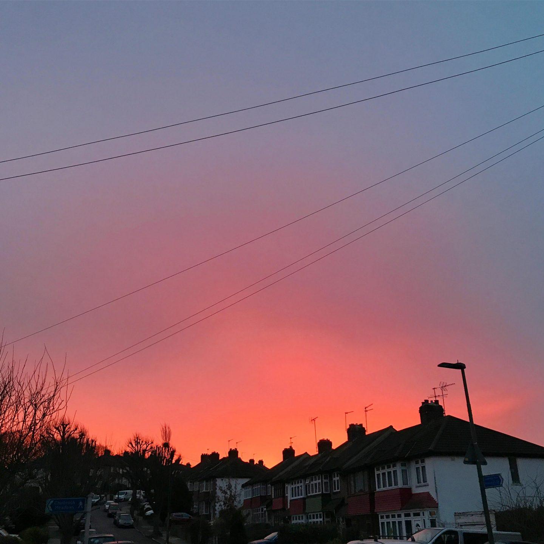 My Sunday Photo Street Sunrise