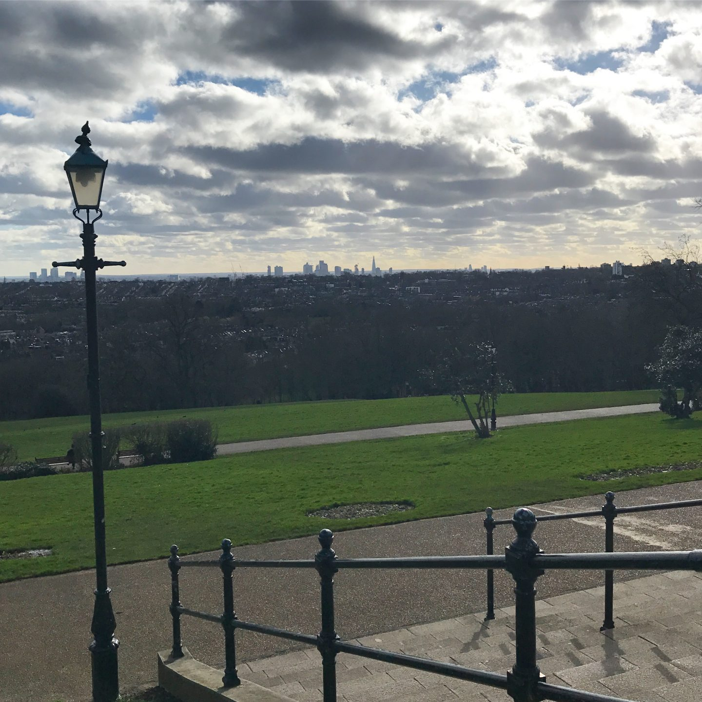 Views from Alexandra Palace