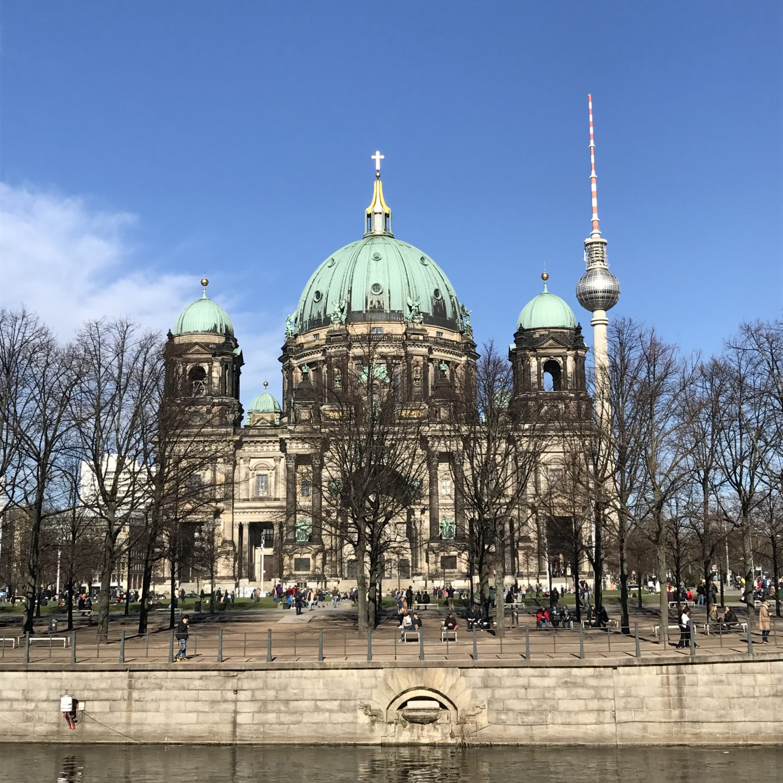Berliner Dom and Fernsehturm