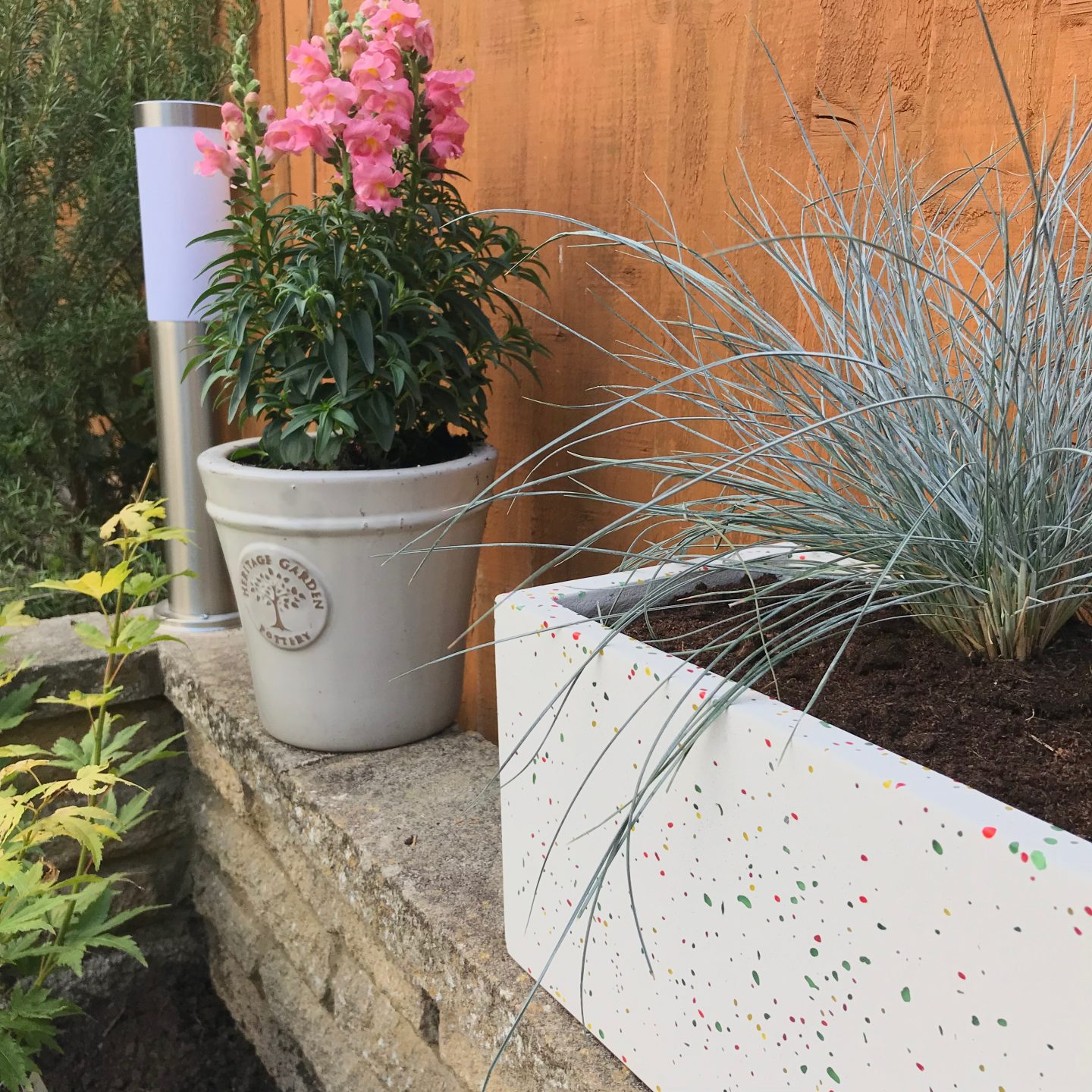 Mini Garden Patio Makeover