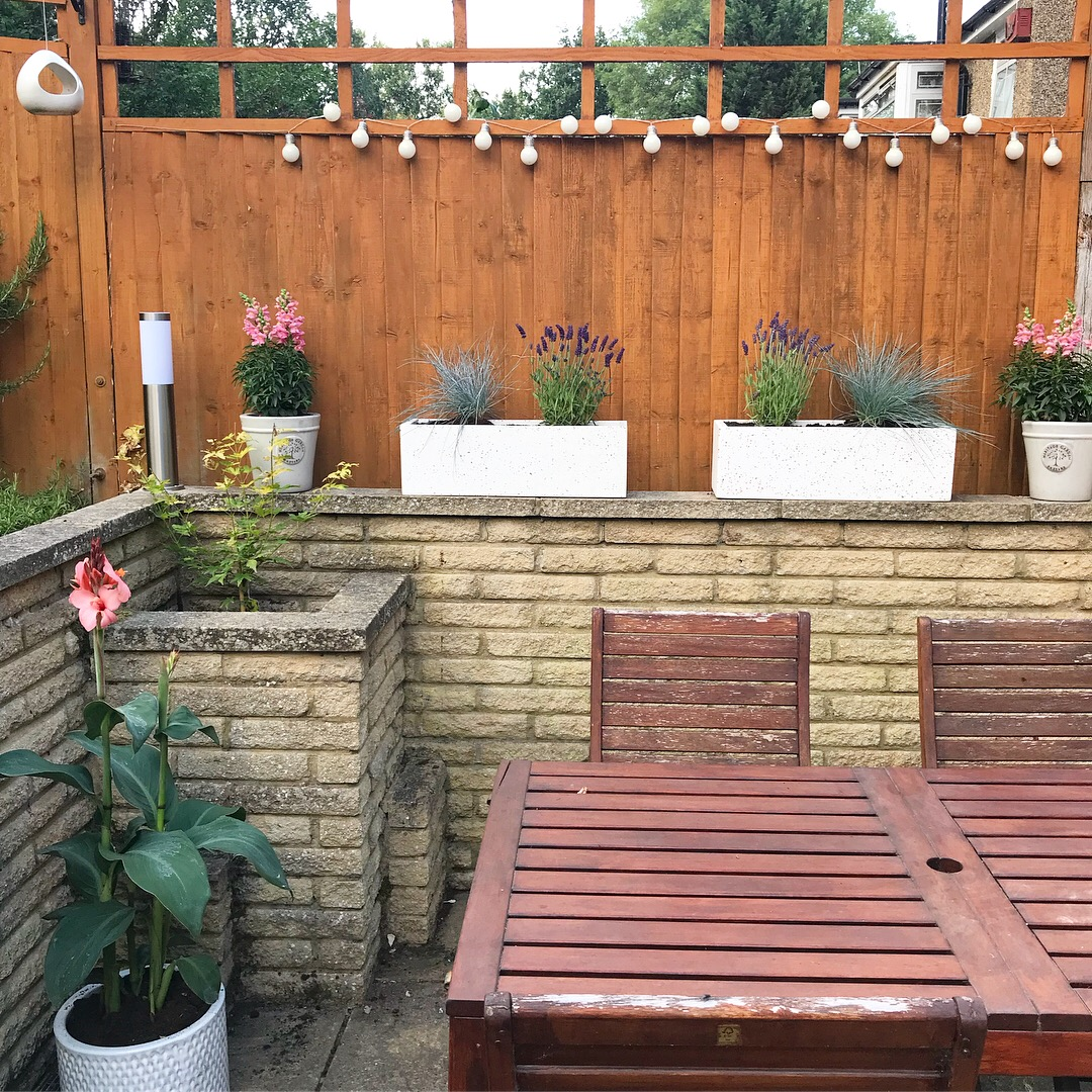 Mini Patio Garden Makeover