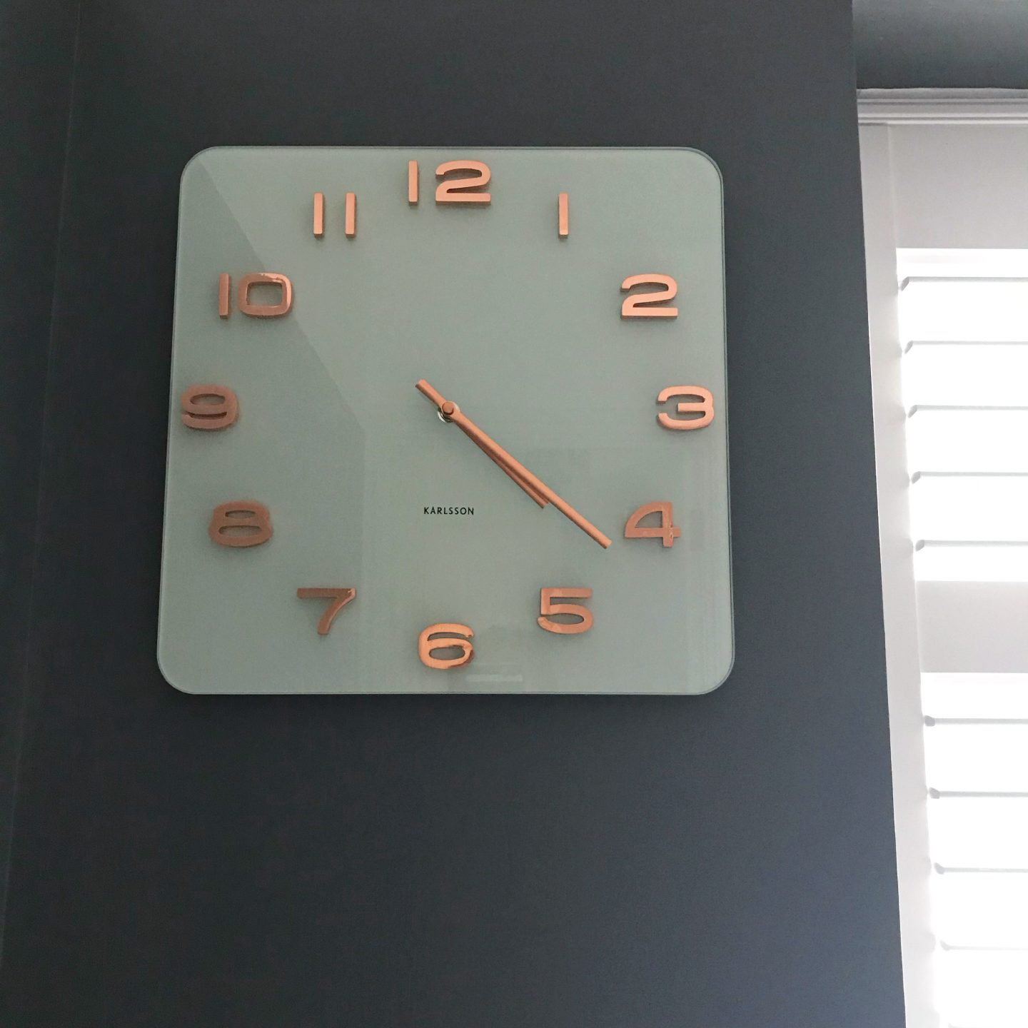 Red Candy Karlsson Wall Clock