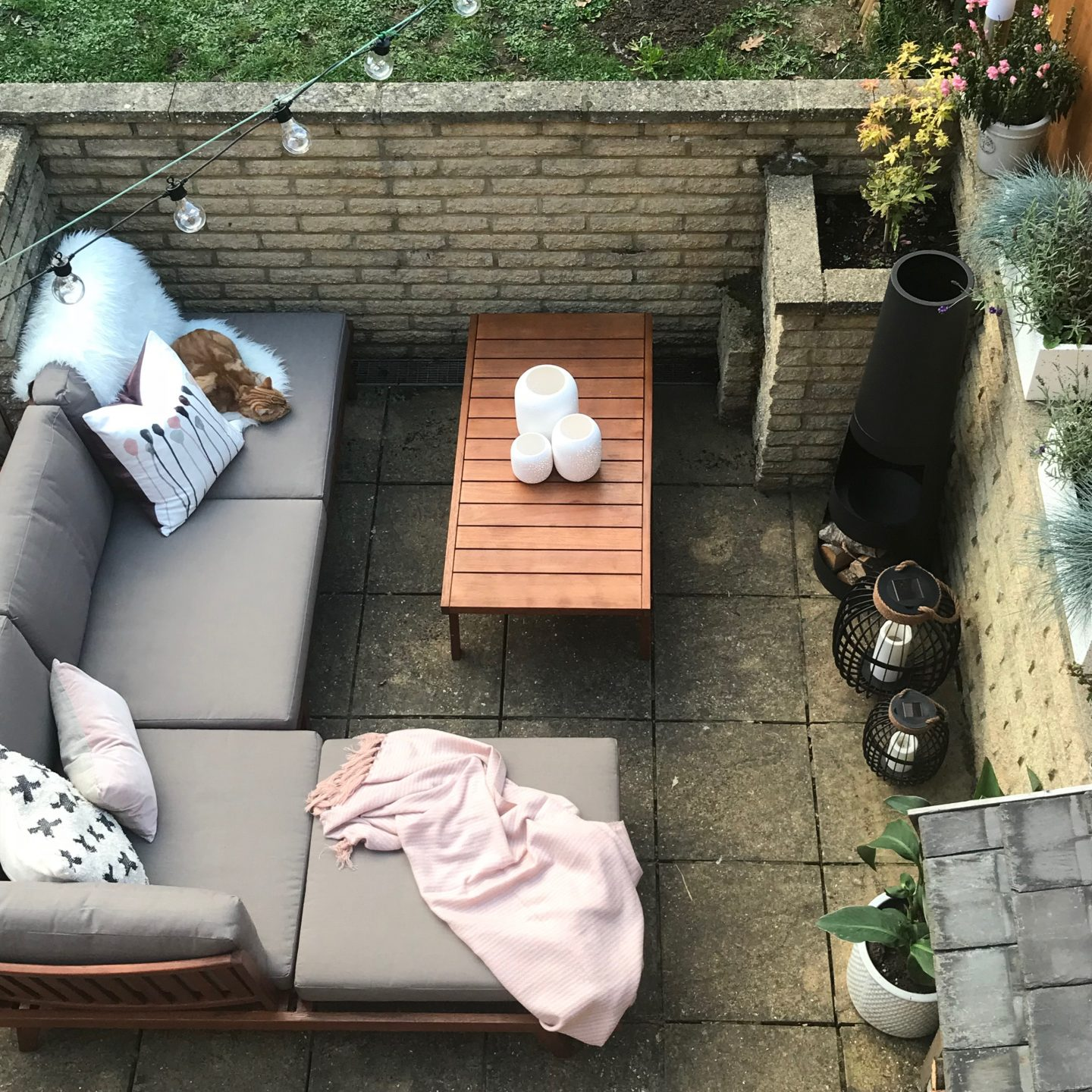 Indian Summer Patio Makeover