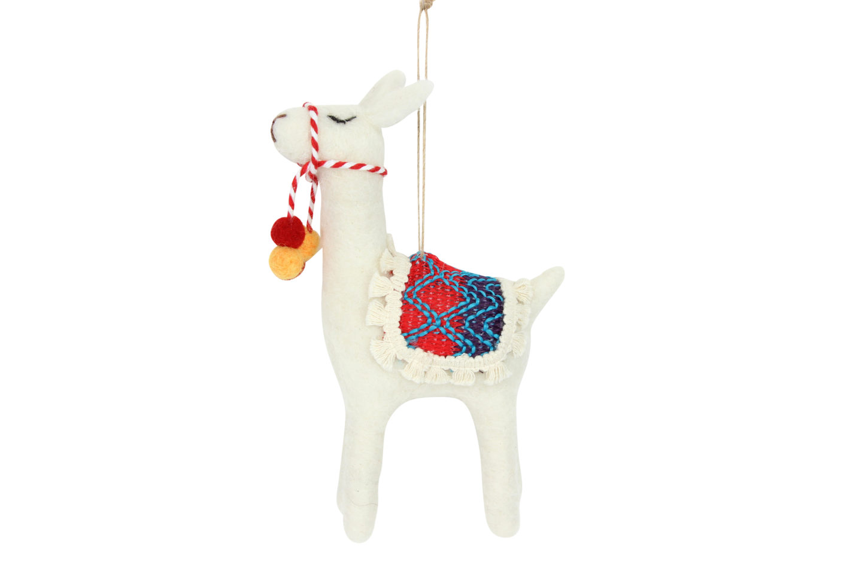 British Library Llama Decoration
